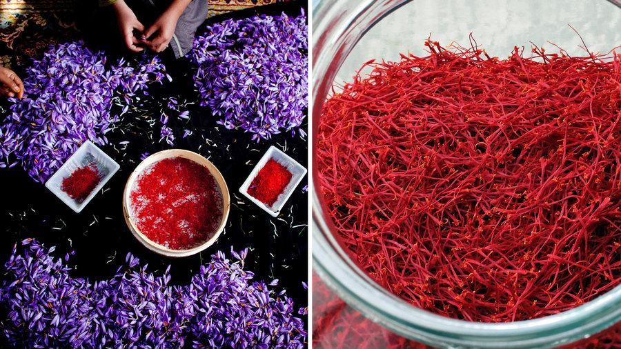 nhuy hoa nghe tay lam sang da chat luong tot - Saffron Giúp Da Mịn Màng Se Khít Lỗ Chân Lông