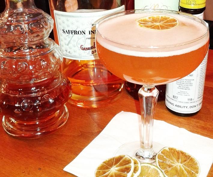 coctail saffron - Hướng Dẫn Pha Chế Cocktail Saffron Ngon Đúng Chuẩn