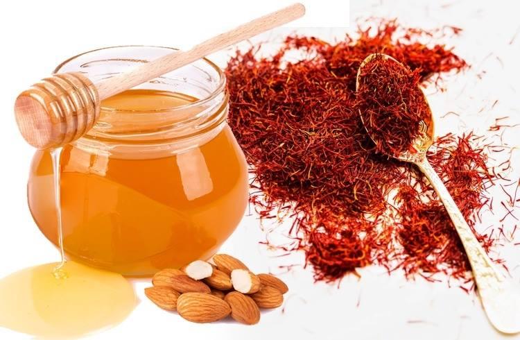 saffron mat ong mat na duong moi - 3 Loại Mặt Nạ Cho Đôi Môi Mịn Màng